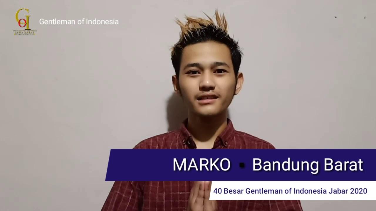 MARKO   KAB. BANDUNG BARAT   GOI JABAR 2020 - YouTube