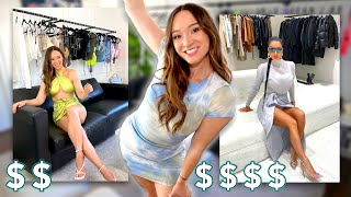 Making My Own KARDASHIAN Glam Room on a BUDGET!! *closet tour*
