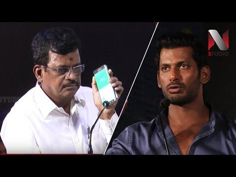 Samar Movie Producer Live Phone Call with Kalaipuli S Thanu | Actor Vishal | Producer Council Issue