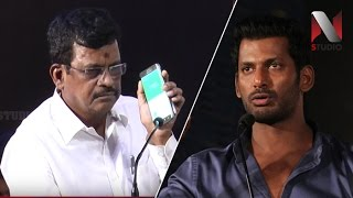 Samar Movie Producer Live Phone Call with Kalaipuli S Thanu | Actor Vishal | Producer Council Issue
