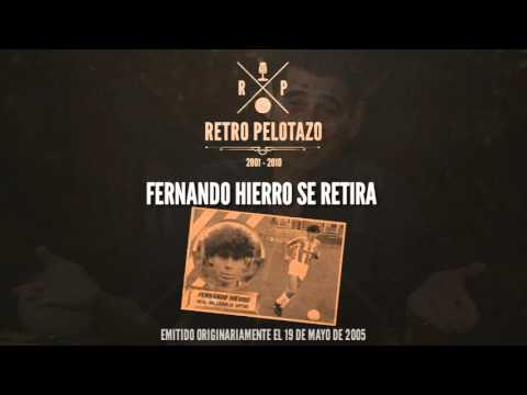 Fernando Hierro se retira
