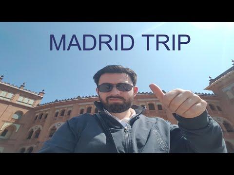 VLOG #8 | Madrid Seyahatim | Snapchat Günceleri-1 (Madrid Trip)