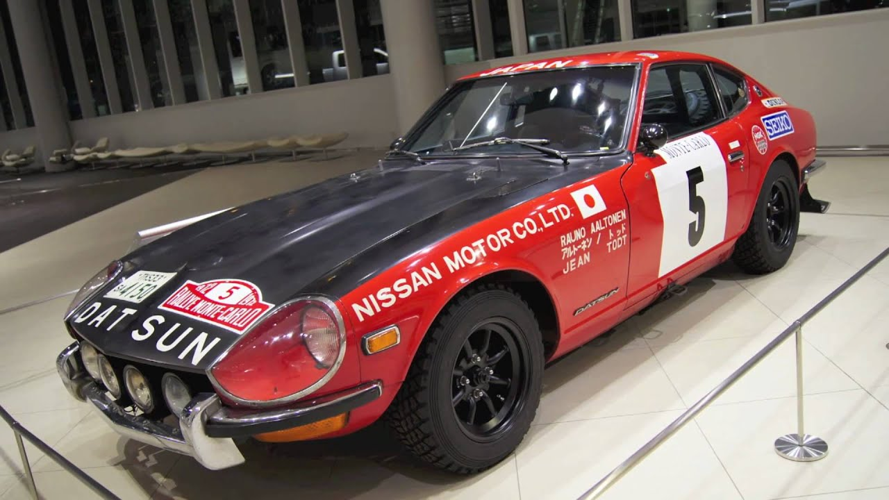 1972 Datsun 240z For Monte-carlo Rally