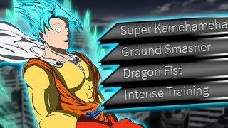 FUSION FOR FUN: GOTAMA! Fusion of Goku and Saitama! | Roblox: Anime Cross 2 (CaC Creation)