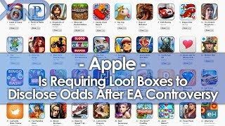 EA Controversy Pushes Apple to Regulate Loot Boxes