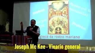 Conferencia del Hno. Joseph Mc Kee - Vicario general
