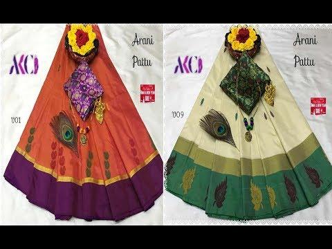 Top 15 art silk saree collections with price : 1170/-