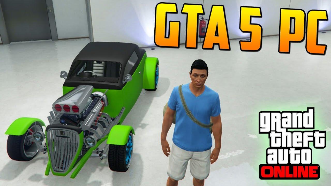 MI PRIMERA VEZ EN GTA V ONLINE PC 60fps 1080p - Gameplay GTA 5 Online PC (Grand Theft Auto 5 PC)