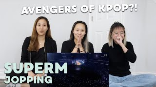 "Gambar cover MV REACTION | SuperM (슈퍼엠) ""Jopping"""
