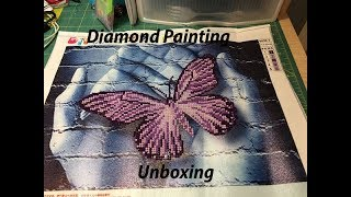 Another August Diamond Painting Unboxing