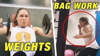 Ronda Rousey Leaks WWE Training Footage; UFC Deletes Rankings ?