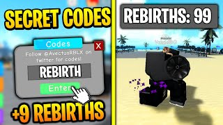 *SECRET* ALL INSANE REBIRTH CODES IN ROBLOX WEIGHT LIFTING SIMULATOR 3!