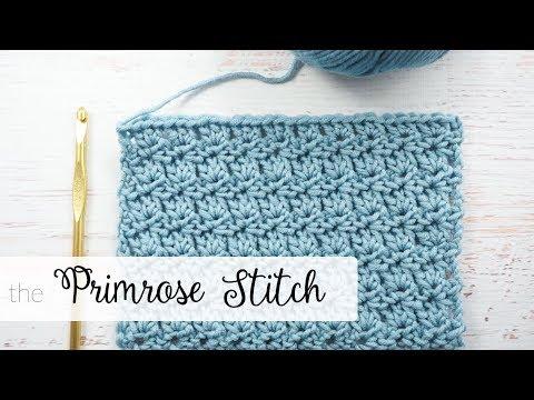 Primrose Stitch Crochet Tutorial