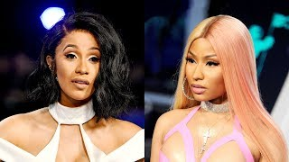 Download Nicki Minaj REACTS to Cardi B
