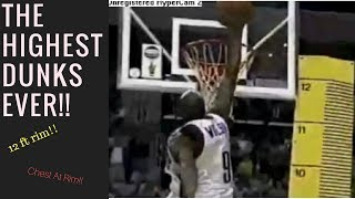 THE HIGHEST DUNKS EVER!!! Video