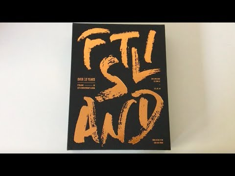♡Unboxing FTISLAND FT아일랜드 10th Anniversary Album Over 10 Years♡