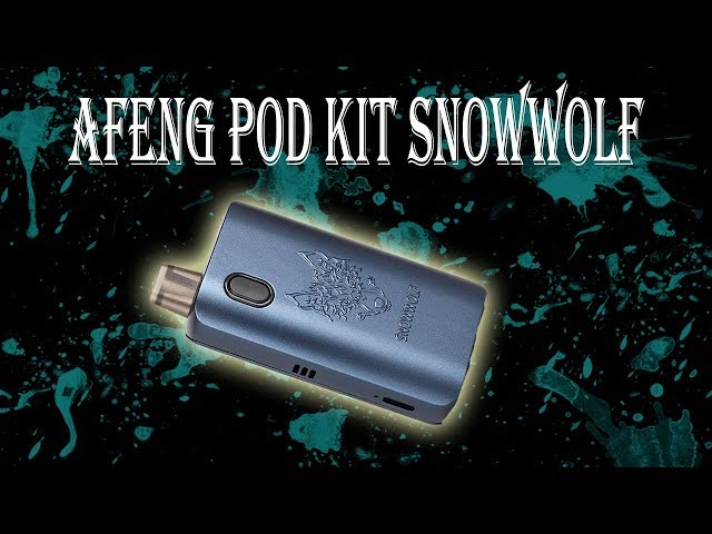 A Feng  Pod System kit con pila 18650 de Snowwolf