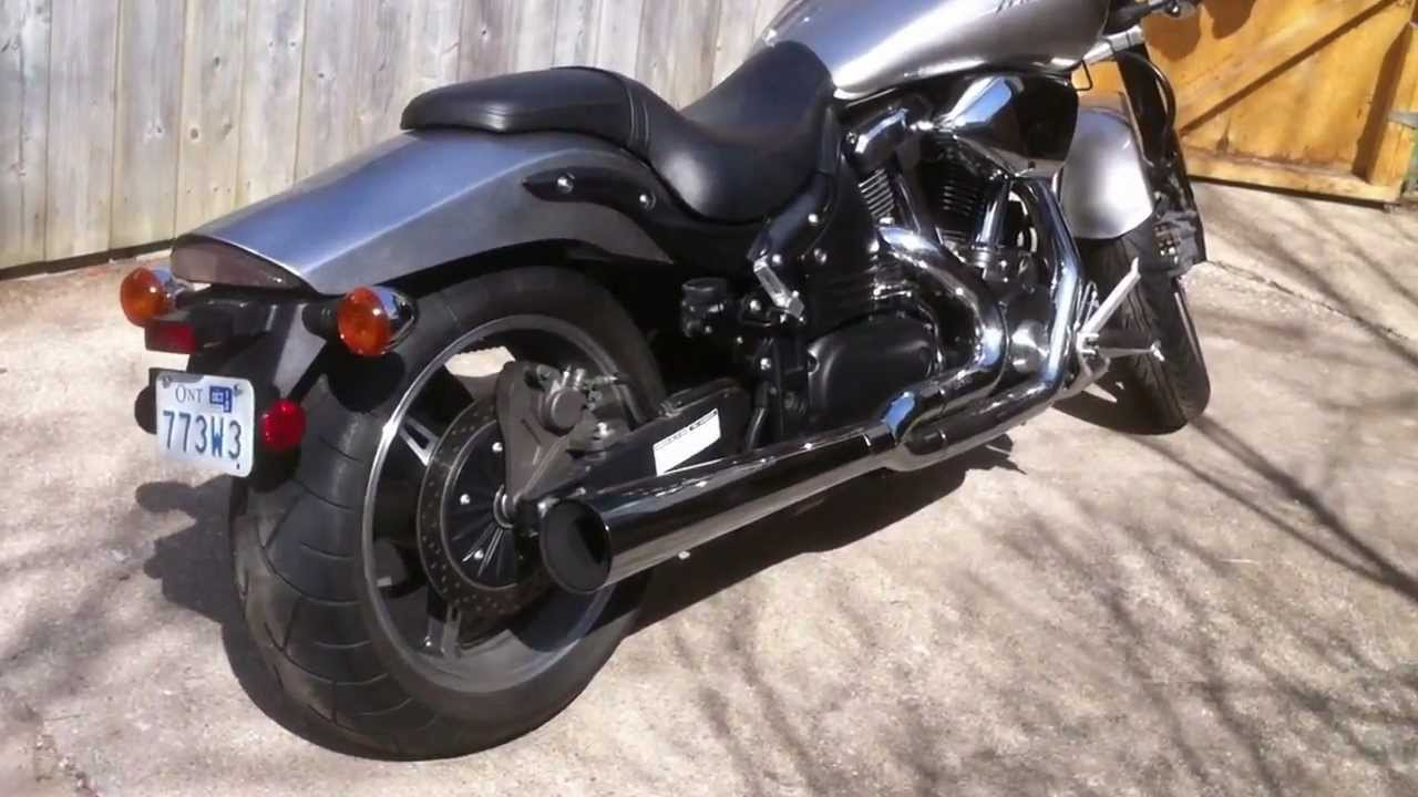 2003 yamaha road star warrior 1700cc vance hines 2 into 1 exhaust 2003 yamaha road star warrior 1700cc vance hines 2 into 1 exhaust youtube publicscrutiny Images