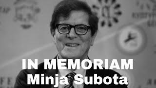 IN MEMORIAM: Minja Subota!