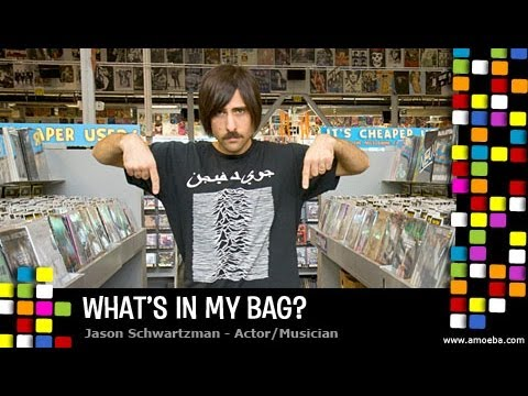 Jason Schwartzman  What's In My Bag?