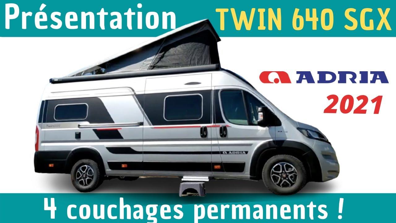 """L'EXCELLENCE DU FOURGON  - Présentation ADRIA TWIN SPORT 640 SGX""""Modèle 2021"""" *Instant Camping-Car*"""