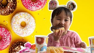 Semra goes to Donut party!!!