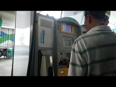 Self Service Petrol Bunk, by Petronas, Malaysia