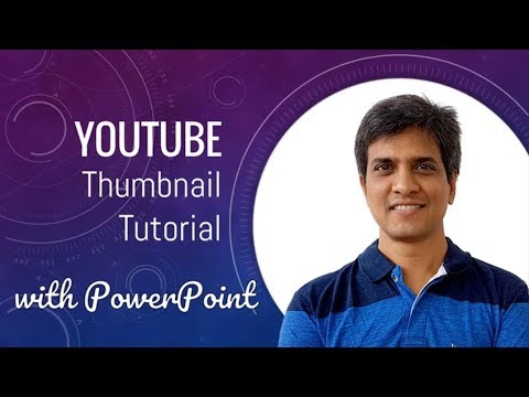 How to Create Custom YouTube Thumbnail with PowerPoint (Tutorial #2)