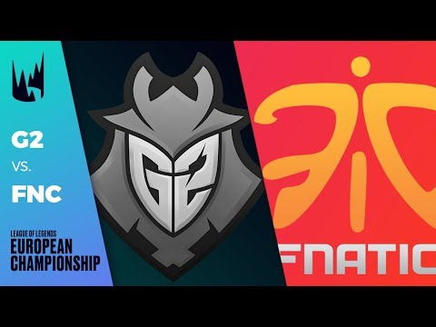 G2 vs FNC - LEC 2019 Spring Split W4D2 - G2 Esports vs Fnatic
