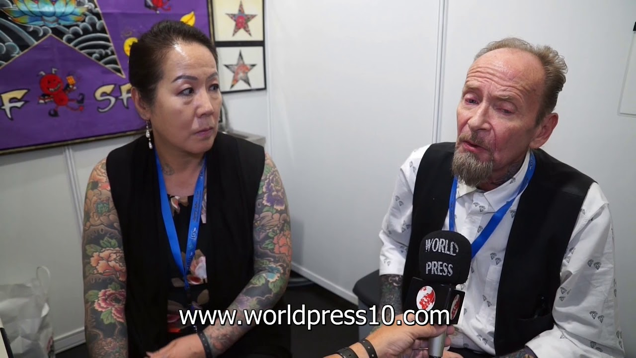 Bill Salmon Tattoo Artist En Barcelona Tattoo Expo 2017