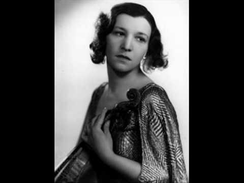 Jelly d'Arányi plays Brahms Hungarian : Dance No.8