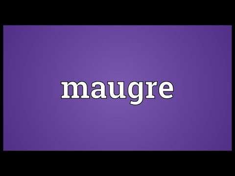 Header of maugre