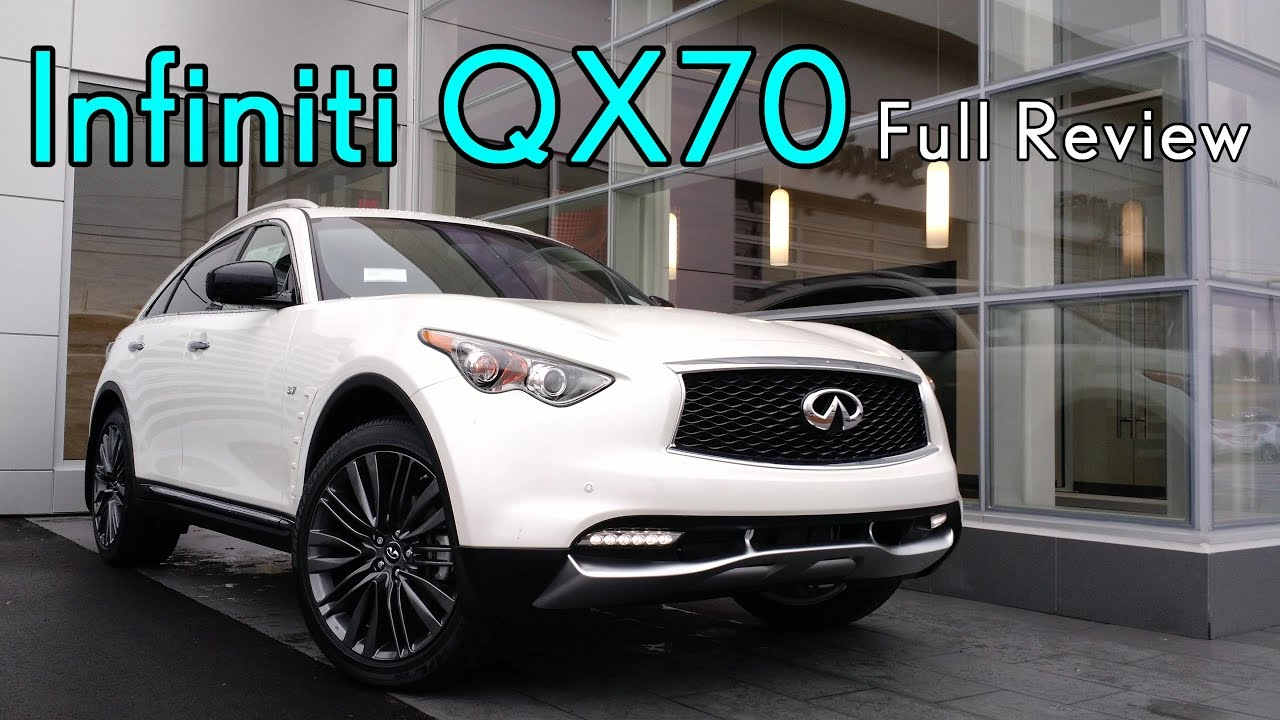 2017 Infiniti Qx70 Full Review 3 7 Premium Technology Sport Limited You