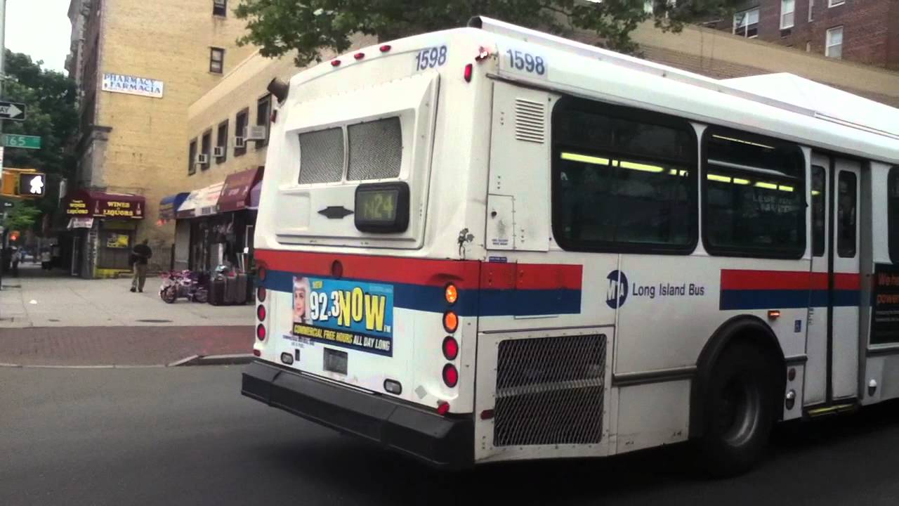 mta long island bus 2000 obi orion cng 1558 on the n24 youtube. Black Bedroom Furniture Sets. Home Design Ideas