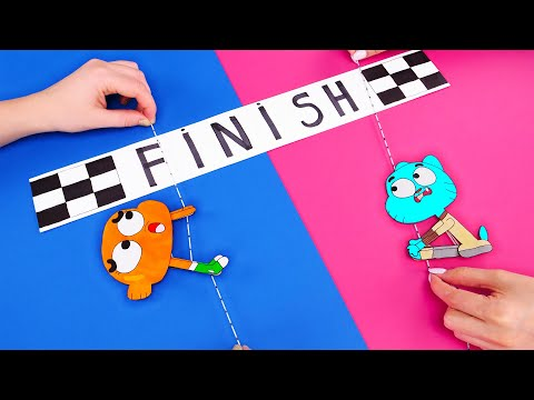 POPSICLE STICKS GAME and FUNNY RECYCLING IDEAS TO TRY NOW
