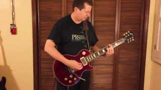 Guitar cover of Rush - Distant Early Warning - on Lifeson Axcess Les Paul