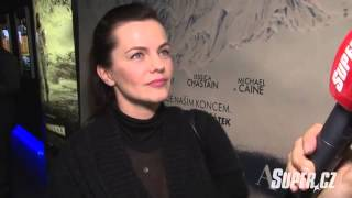 Marta Jandová - premiéra filmu Interstellar (6.11.2014)