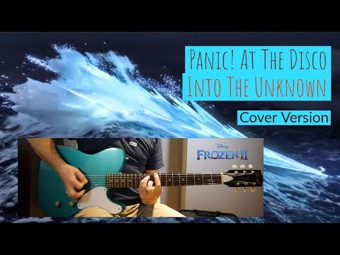 """Panic! At The Disco """"Into The Unknown"""" Frozen 2   Guitar Cover with TAB"""