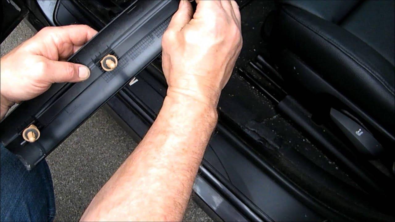 BMW 3 Series Door Sill Panel Fix