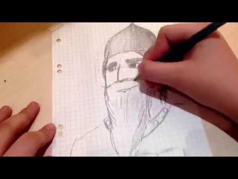 Как нарисовать богатыря/ By OlgaKlip