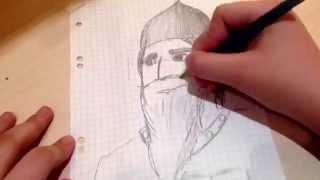 Как нарисовать богатыря/ By OlgaKlip(через YouTube Объектив., 2015-02-18T18:02:21.000Z)
