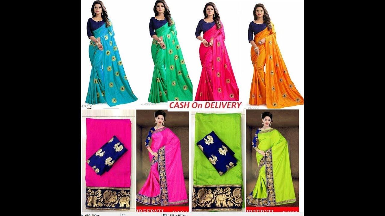 9fb7b06bfcf736 Paper Silk Embroidery Sarees