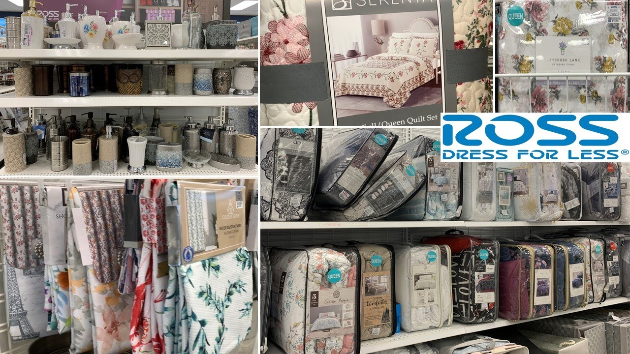 ROSS Bathroom Accessories * Bedroom Decor Bedding Sets * Throws | Shop With Me 2021