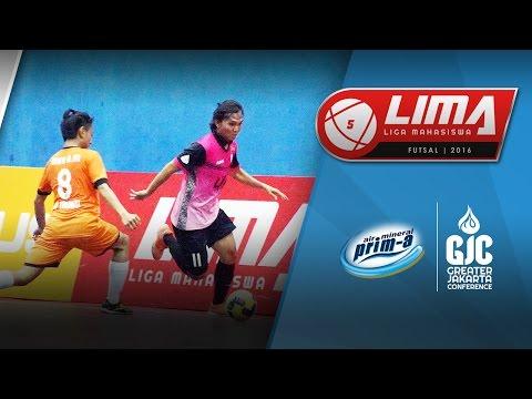 LIMA Futsal Air Mineral Prim-A GJC Season 4: UIN Jakarta vs STP Trisakti (Men's)