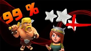 Clash of Clans - BRUTAL Titan 2 99% Attack!