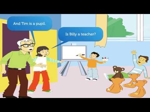 Tiếng Anh Trẻ em Lớp 1. Phần 4 Anh ấy là một anh hùng.