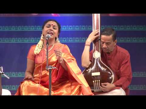 8th Annual Music Festival 2017 - Thyagaraja Aradhane - Karnatik Vocal by Sudha Ragunathan
