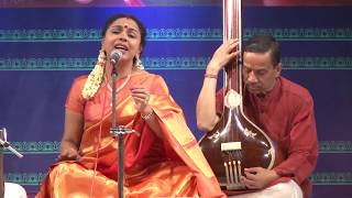 8th Annual Music Festival 2017 - Thyagaraja Aradhane - Karnatik Vocal By Sudha Ragunathan