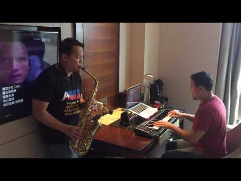 More Than You'll Ever Know - Michael Ruff_piano and sax cover