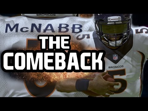 Madden NFL 16 Career Mode: Donovan Mcnabb Makes A Comeback